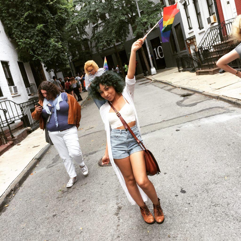 justine gay flag