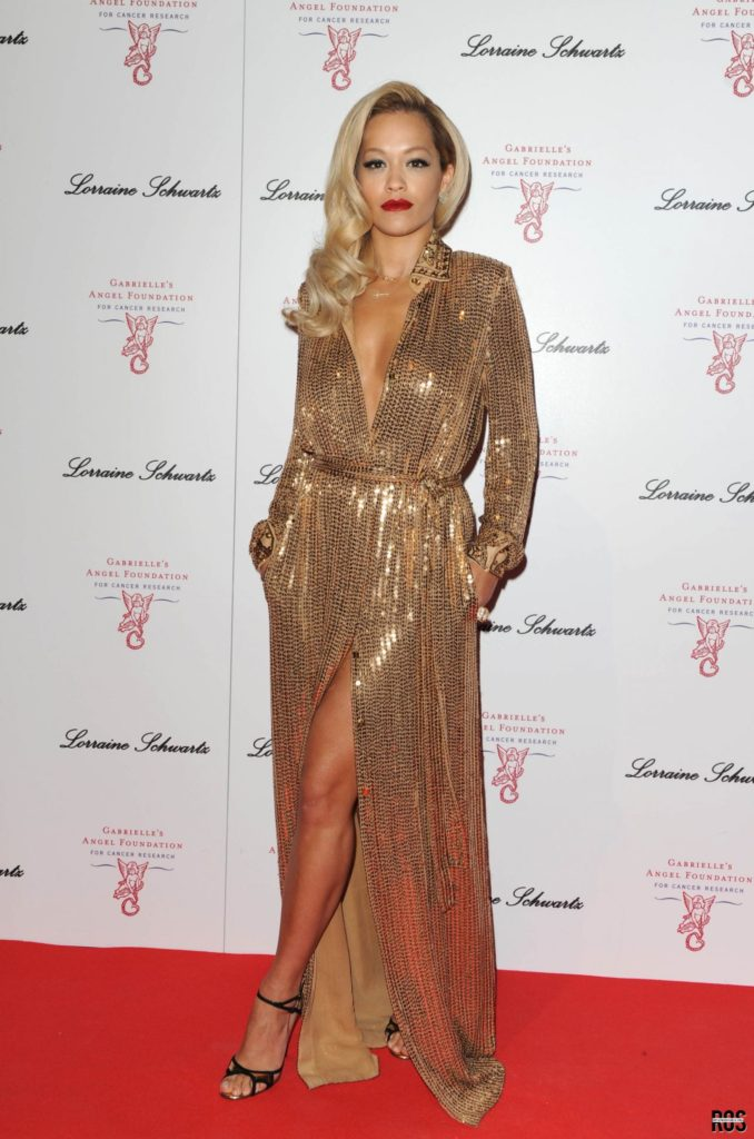 Rita Ora Wearing Emilio-Pucci