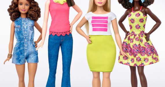 Barbie Now Offers New Shapes
