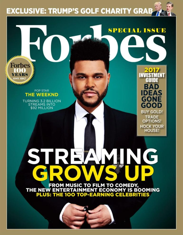 Forbes - the weekend