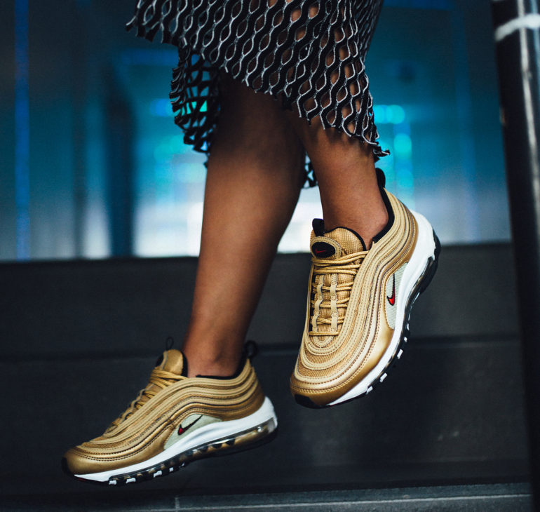 The Iconic Nike Air Max 97's Make a Major Comeback For Its 20th Anniversary