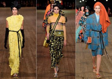 NYFW Designer Marc Jacobs Fashion Runway Cultural Appropriation SS18 SS17 Headscarves Headwraps Kendall Jenner Gigi Bella Hadid Kaia Gerber