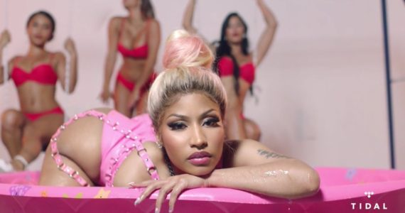 Nicki Minaj's Lands 14th Mention in Billboard's Hot 100 With Rake It Up