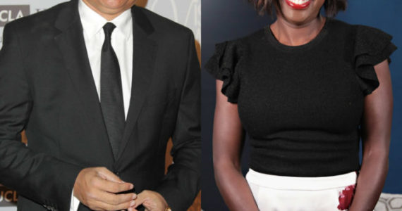 Viola Davis and larry