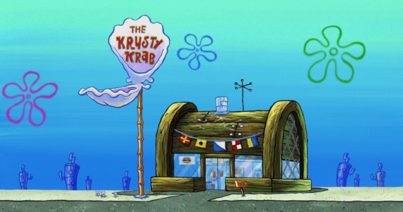 Trending on Twitter: The Krusty Krab vs The Chum Bucket Meme