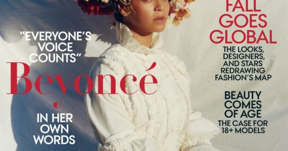 Beyonce for Vogue